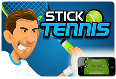 Stick Tennis - Available on iOS and Android!