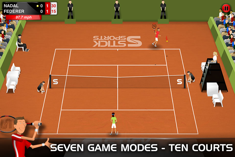 Stick Tennis - Play Free Online Tennis Games