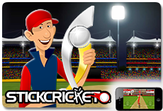 Stick Cricket - Available on iOS and Android!