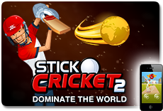 Stick Cricket 2 - Available on iOS and Android!