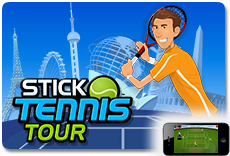 Stick Tennis Tour - Available on iOS and Android!