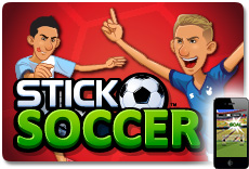 Stick Soccer - Available on iOS and Android!