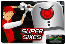 Stick Cricket: Super Sixes - Available on iOS and Android!
