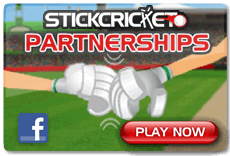 Stick Cricket - Play Partnerships now