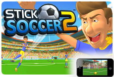 Stick Soccer 2 - Available on iOS and Android!